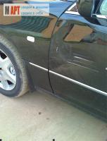 покраска передней двери автомобиля