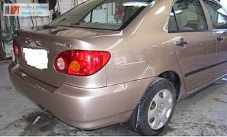 окраска кузова автомобиля